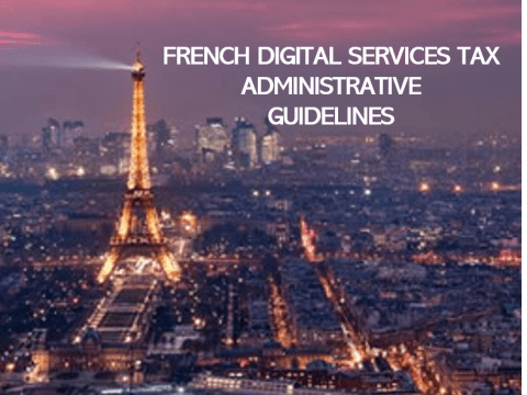 French digital tax guidelines